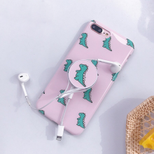Dinosaur Silicone Phone Cases Iphone 7 8 Plus Case Pop Stand Holder Cover X 6 6s Max Xr